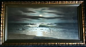 California  Seascape by Moonlight