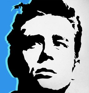 James Dean A4