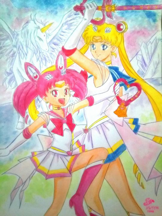 Sailor Moon Super S - My World