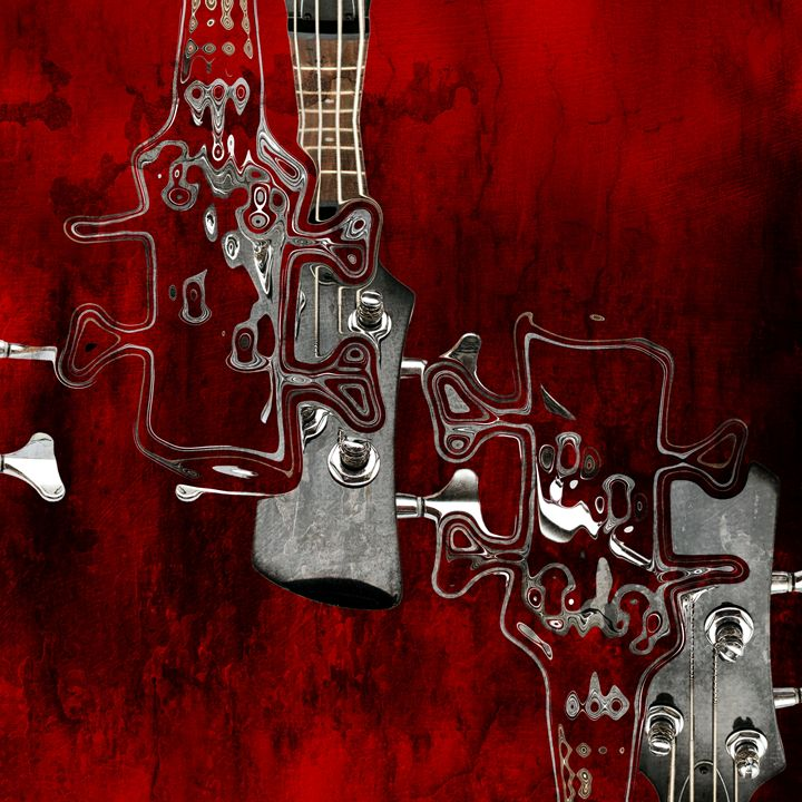 Musical Abstract Red - 01bt02 - Variance Collections