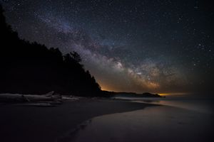Milky Way Rising at La Push