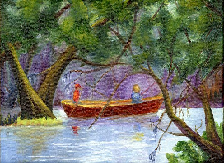 Fishing On The Bayou - Lendel