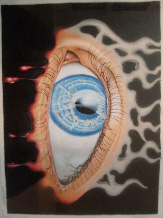 All seeing eye - Top Notch Designs by John Ross