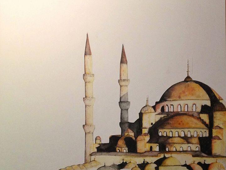 The Mosque -  Yasharvanli