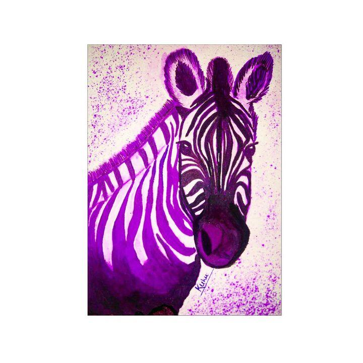 zebra - kuhu