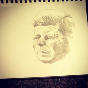 JFK Sketch
