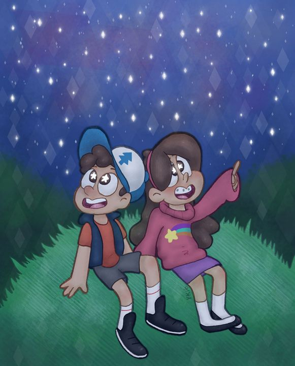 Dipper and Mabel - Chaotichomo
