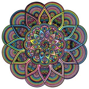 Colourful Mandala 01