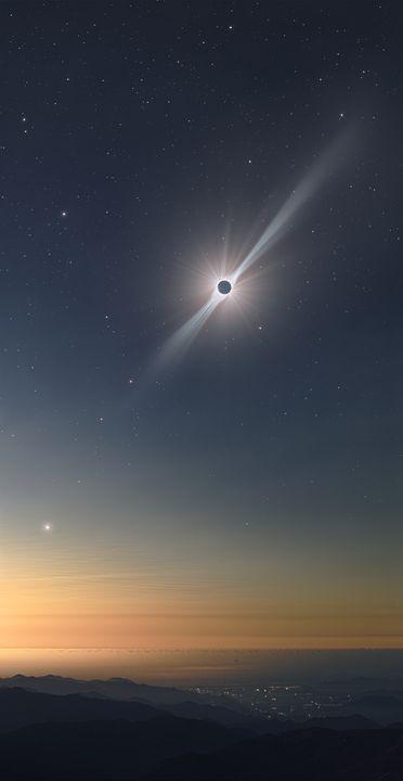 2019 Eclipse from Cerro Tololo - Great American Eclipse