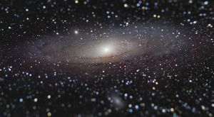 Andromeda at arm's length