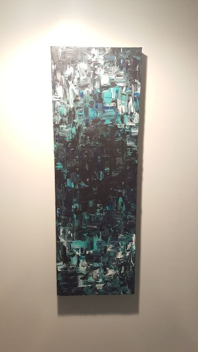 Modern, Abstract, Acrylic Painting - Merryn Lively