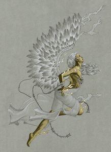 God let the angels die