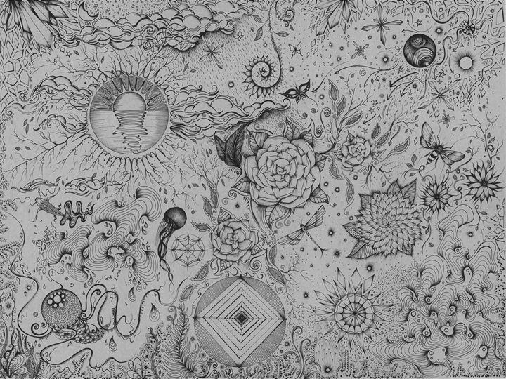Master Doodle - Zan Schaefer Art