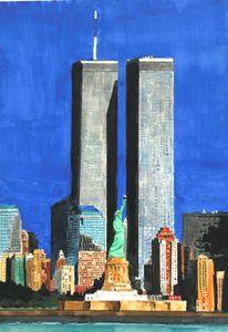 """We'll always remember"" - Watercolors byTony Digregorio"