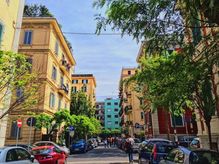 Colours of Naples - Jori Saloranta