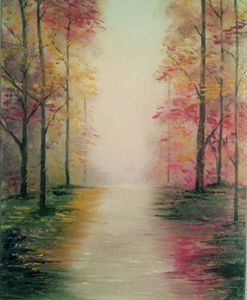 Original oil painting -Autumn
