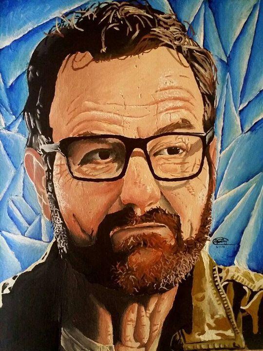 Breaking Bad Walter White Portrait - Spriley Cherenfant