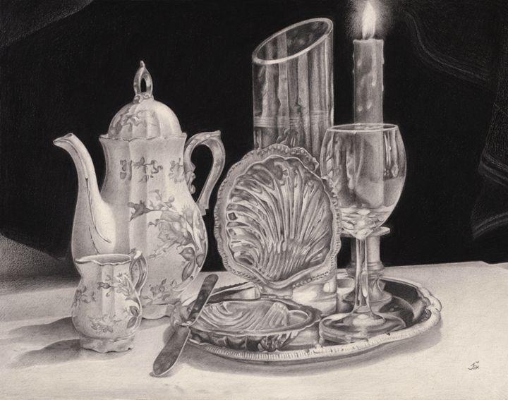 Ceramica, metal y vidrio - Joel Andrés Leppe Estrada