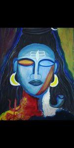 Mahadev Handmade Painting