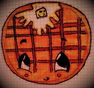 Yummy Pancake Illustration Drawing