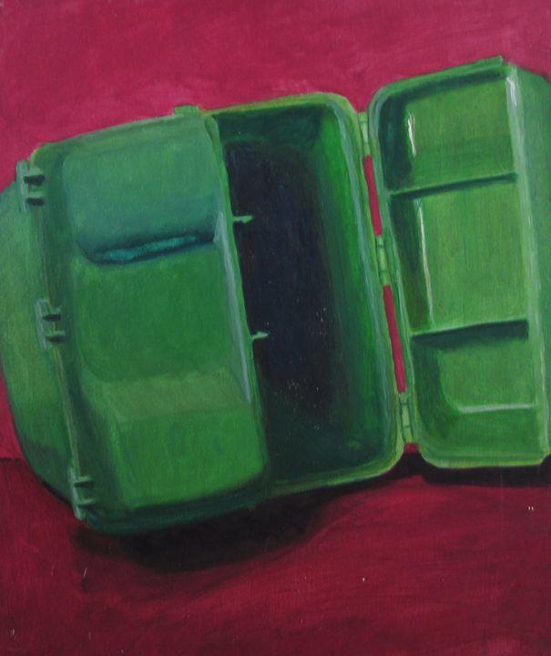 Greenbox Painting Stilllife Nov 2013 - reujken