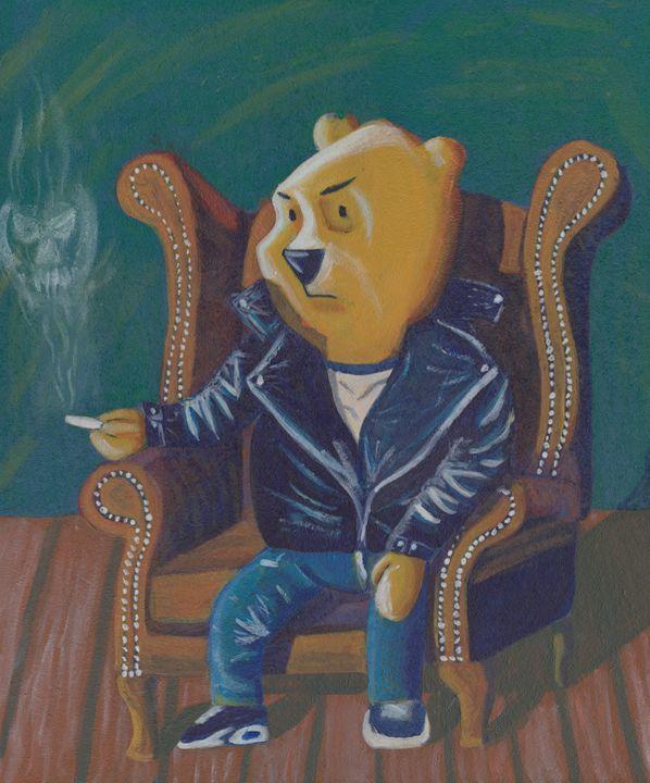 Smoking Winnie The Pooh - reujken