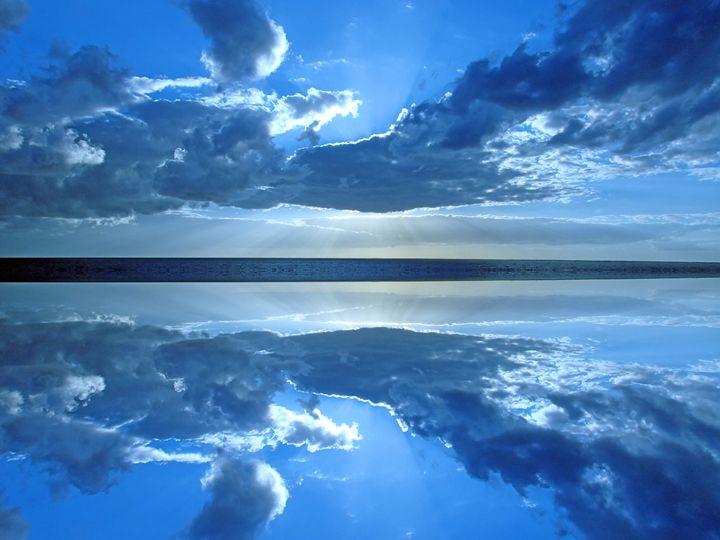 Blue Sky at Sea II - francine mabie