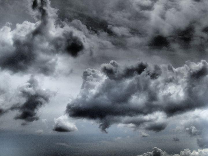 Grey Sky Along the Coast - francine mabie