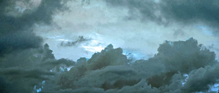 Clouds of blu - francine mabie