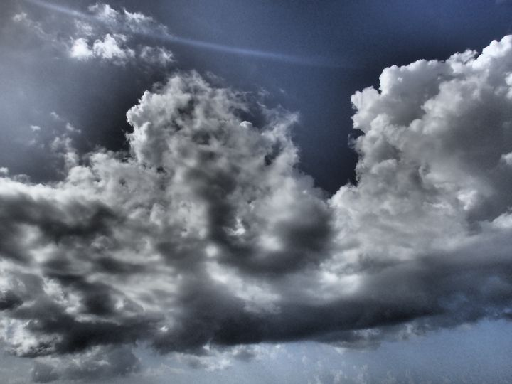 Dark Clouds - francine mabie