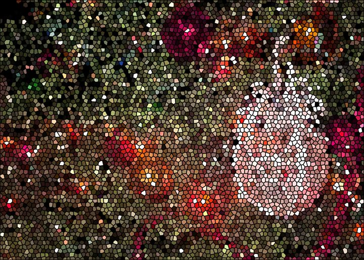 Stained Glass Ball - francine mabie