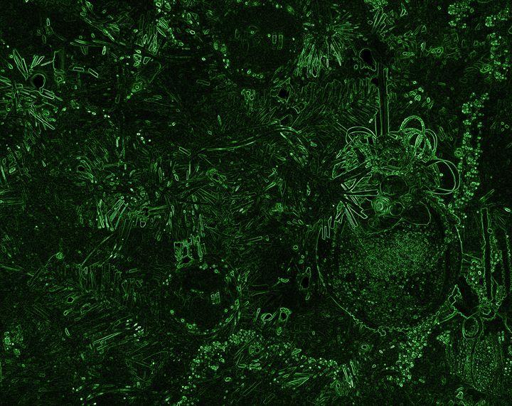 Green Neon Balls - francine mabie