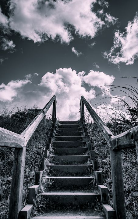 Stairway to the sky - Caleb French Photography