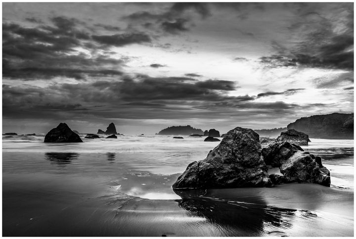 Camel Rock at Dusk - Caleb French Photography