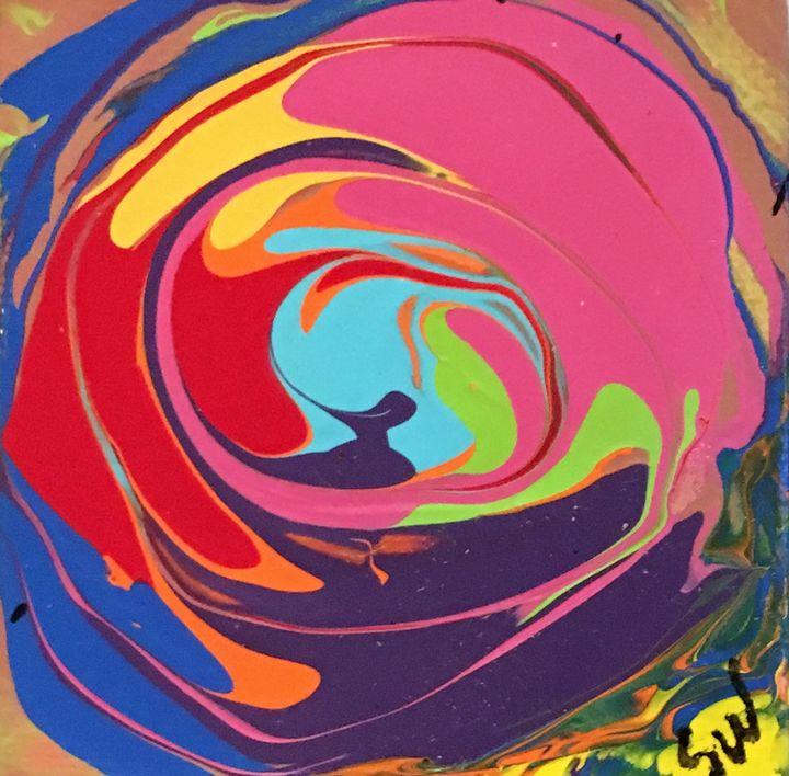 Small Swirl - Splatter Art