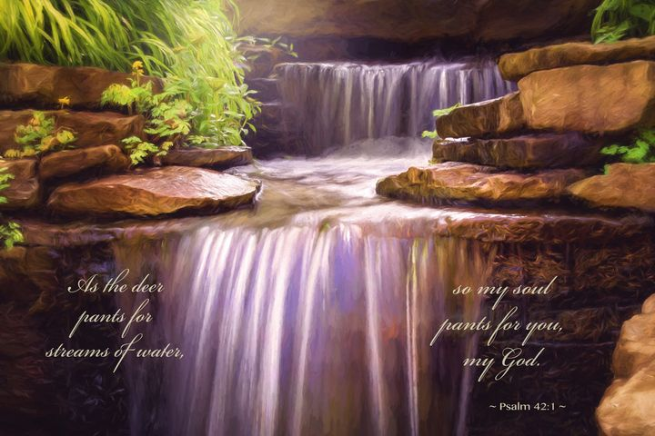 Peaceful Waters Psalm 42 - Sharon McConnell