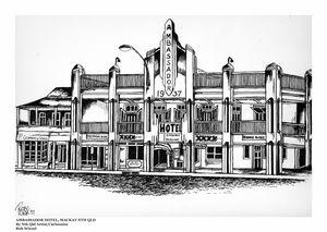Ambassador Hotel, Mackay, Nth Qld.