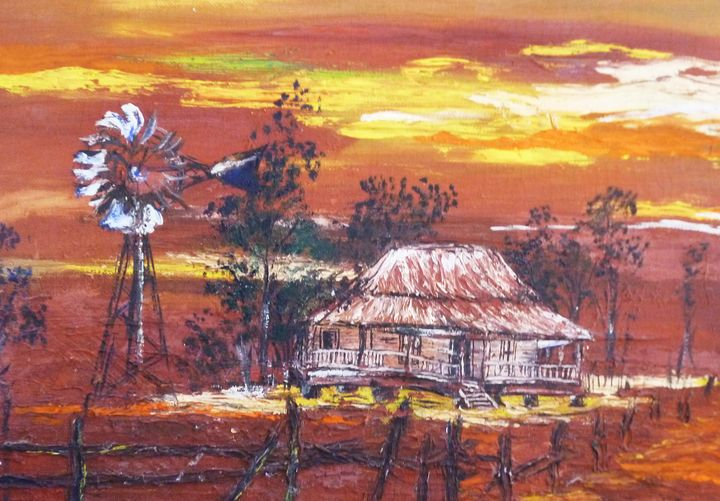 Old Homestead - Rob Wiezel Art