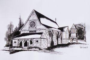 St Barnabas Chapel, Norfolk Island.