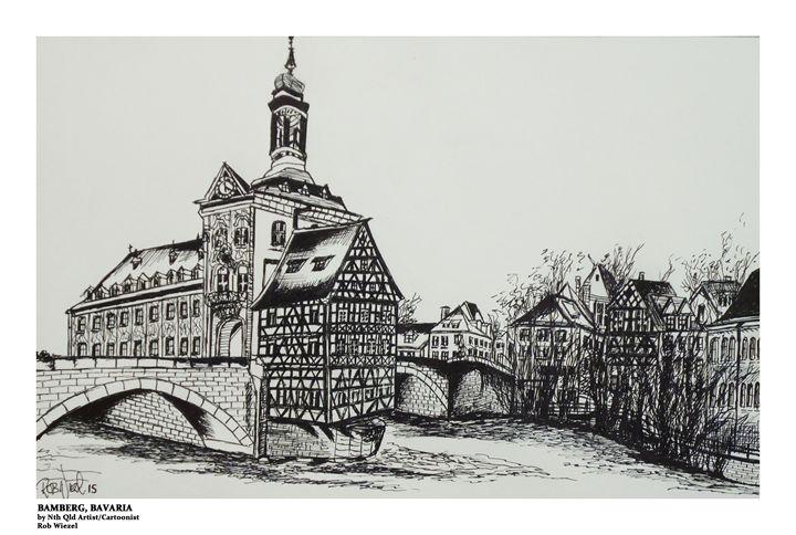 Bamberg, Bavaria - Rob Wiezel Art