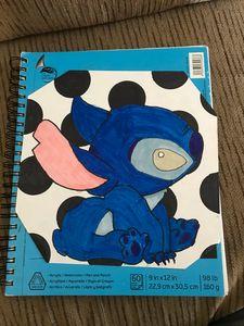 Stitch Pop art