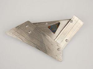 titanium brooch one - Sandra VanderMey