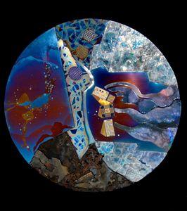 Star Factories Wallpiece - Sandra VanderMey