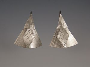 titanium earrings three