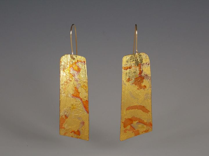 earrings six - Sandra VanderMey