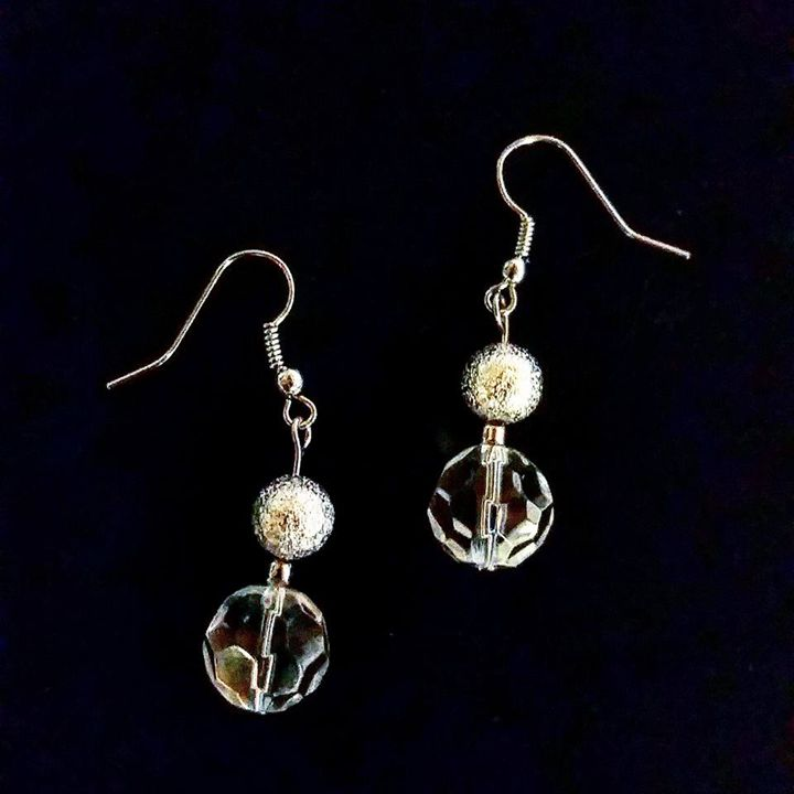 Handmade Silver Dangle Earrings - Ravishing Treasures