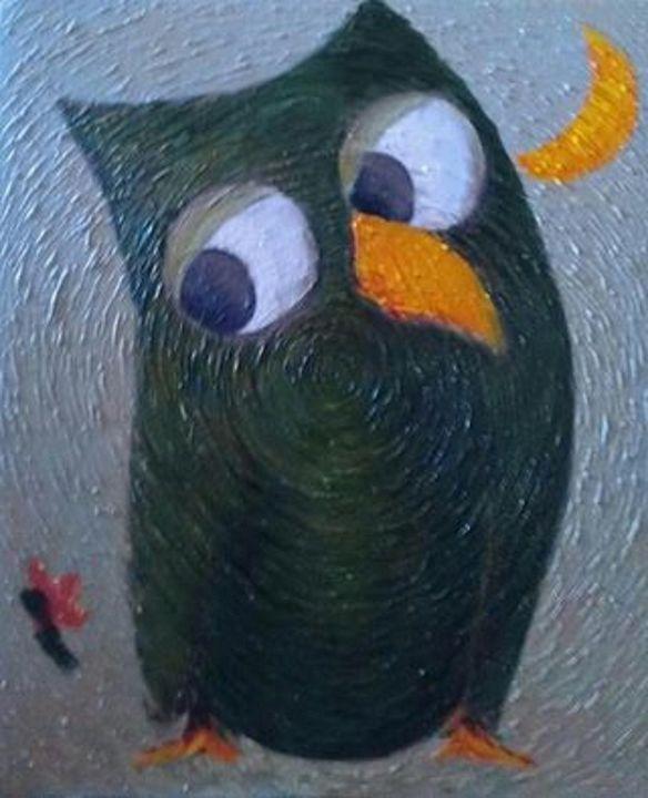 """The Green Parrot"" - Sanan ART"
