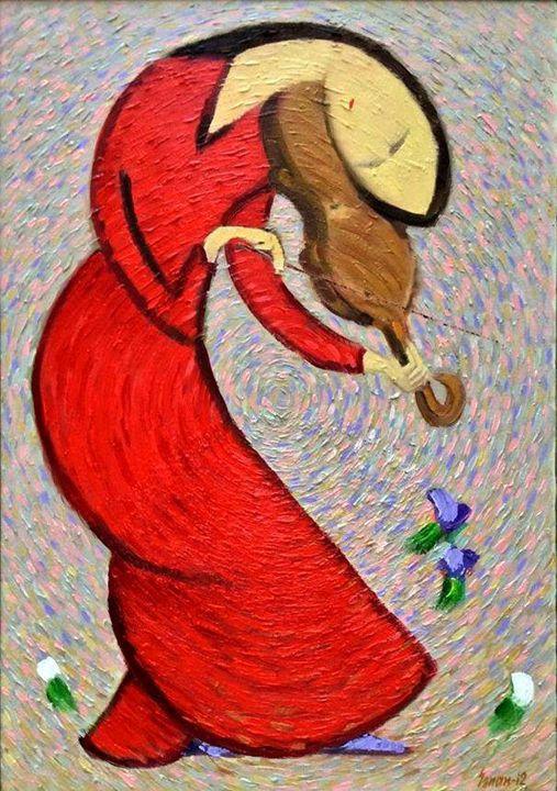 """Violinist"" - Sanan ART"