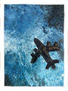 Aesthetic Ocean Oil Painting