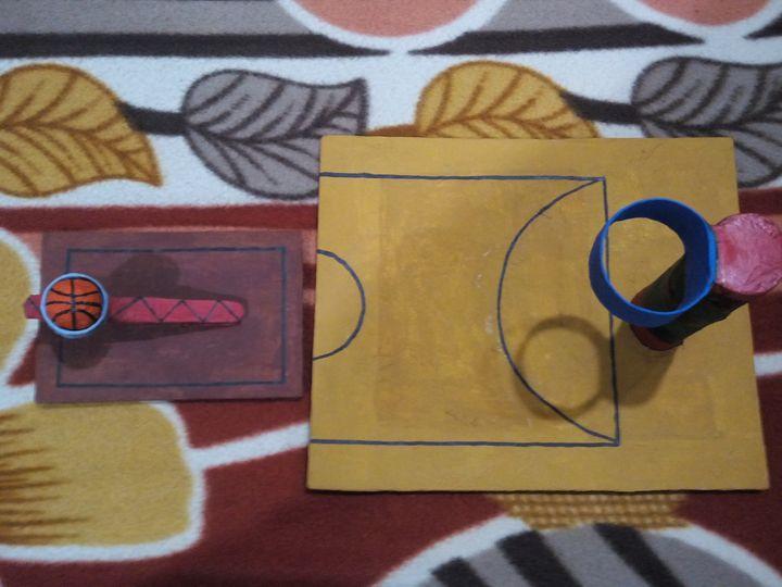 Mini basketball game - Simarpreet Kaur